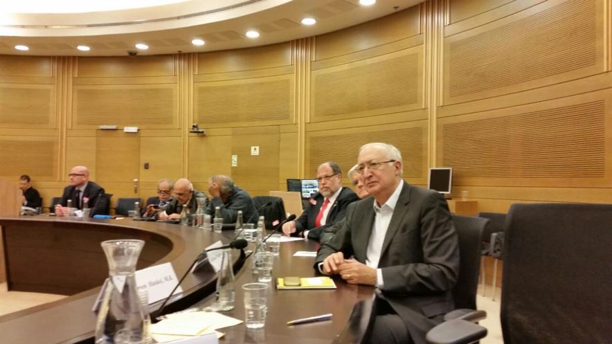 Encuentro de los Rectores con el Parlamentario Manuel Trachtenberg en la Kneset. (Fotografía cortesía del Ministerio de Relaciones Exteriores)