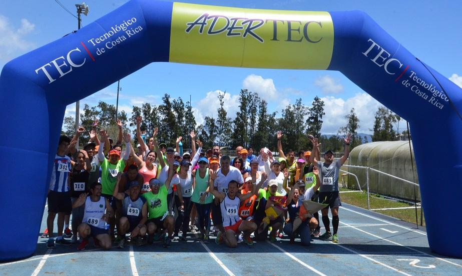 Todos los atletas compartieron en esta actividad deportiva y recreativa organizada por Adertec. (Foto: OCM)
