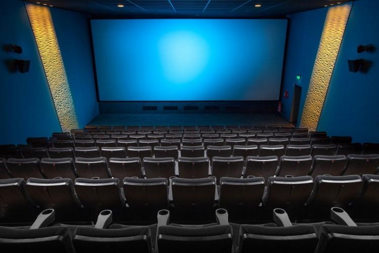Sala de cine vacía