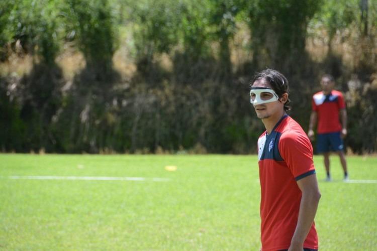 Néstor Monge en entrenamiento.
