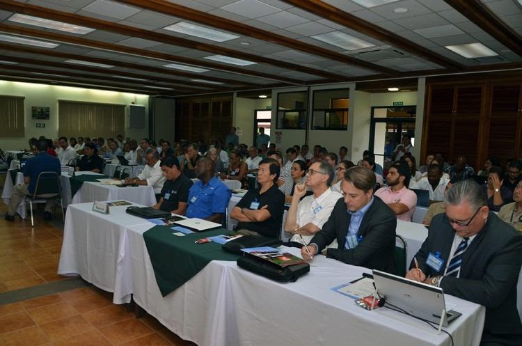 Imagen de la sala donde se llevo a cabo la reunión.