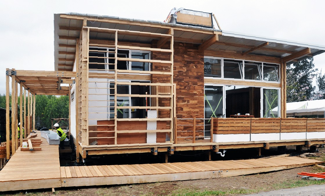 Construir su casa con madera ahorra al ambiente, el CO2 producido ...