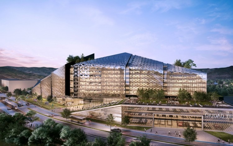 Ilustración de cómo podría lucir el complejo que la Municipalidad espera desarrollar en el terreno que tiene a disposición en la transversal 24. Cortesía Municipalidad de San José.