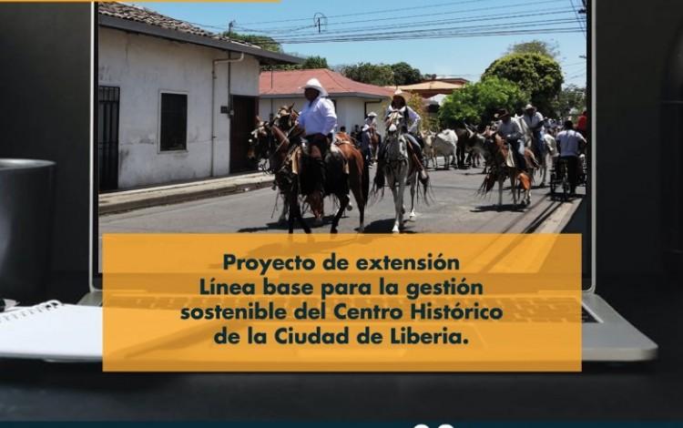 Imagen de un tope de caballos en Liberia, Guanacaste.