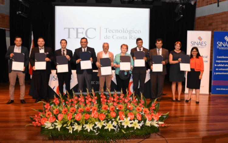 La carrera de Ingeniería Ambiental y seis ingenierías del TEC que a su vez han sido acreditadas por el CEAB recibieron la acreditación del Sinaes. (Foto Ruth Garita/OCM).