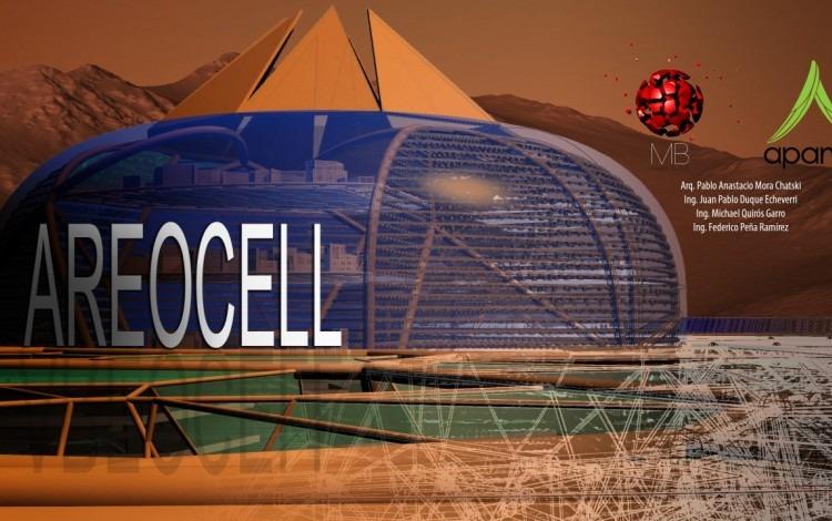 El diseño se basa en un domo gigante de 6 kilómetros de diámetro y 2 km de altura.