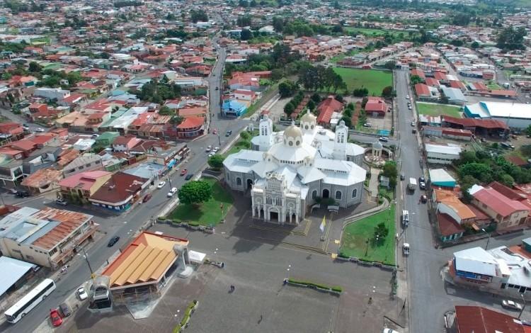 foto aérea de la Basílica