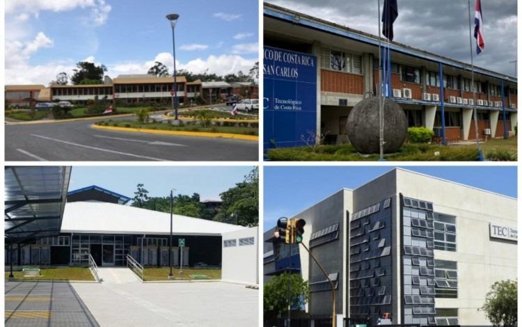 Imagen de los Campus y Centros Académicos del TEC