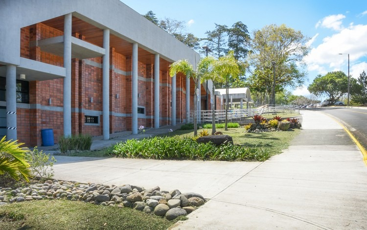 El edificio del Centro de las Artes.