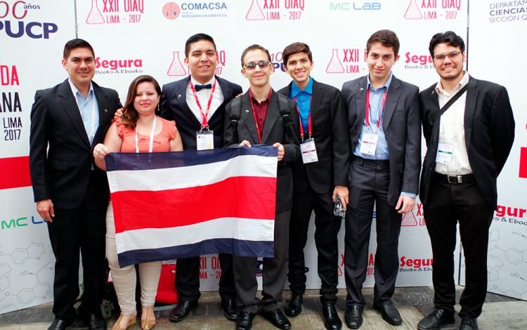 representantes de costa rica en olimpiada de química