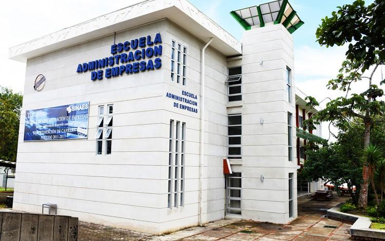 Edificio de la Escuela de Administración de Empresas.