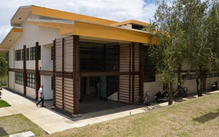 La Primera Jornada Forestal 2017 tendrá como temática la construcción con láminas de madera. (Imagen: Nuevo edificio de Ingeniería Forestal del TEC. Archivo / OCM)