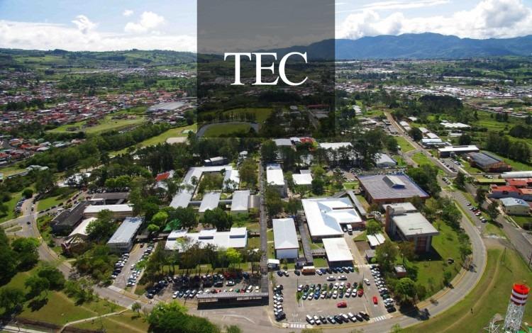 Imagen aérea illustrative del campus del TEC.