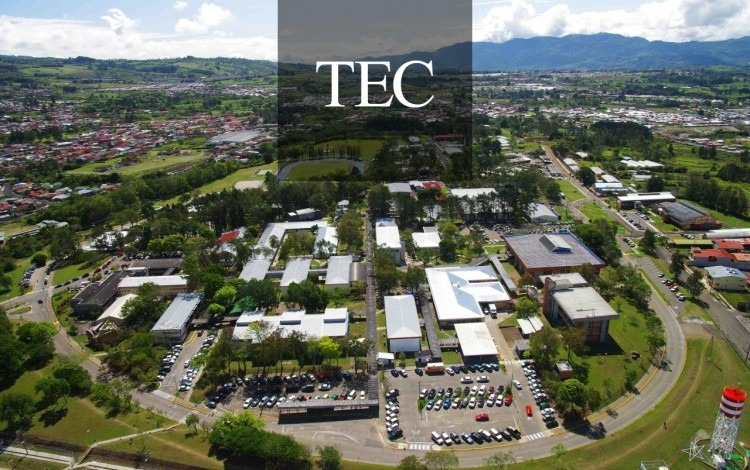 Imagen aérea del TEC.