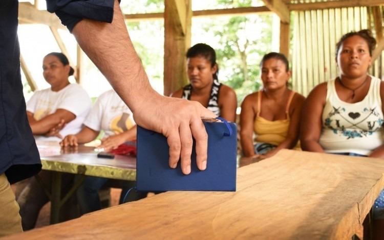 indígenas  reciben capacitación del TEC