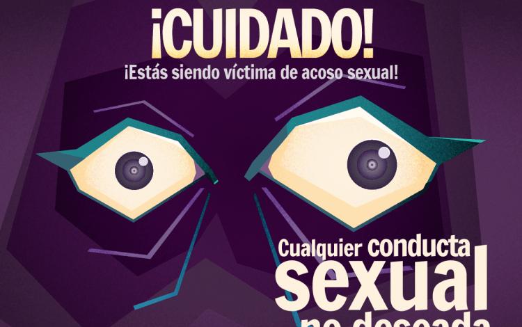 ¡Cuidado! Está siendo víctima de acoso sexual