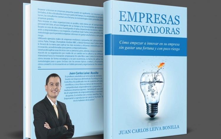 Portada y contraportada del libro Empresas Innovadoras