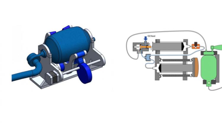Diseño  gráfico de los dos modelos.