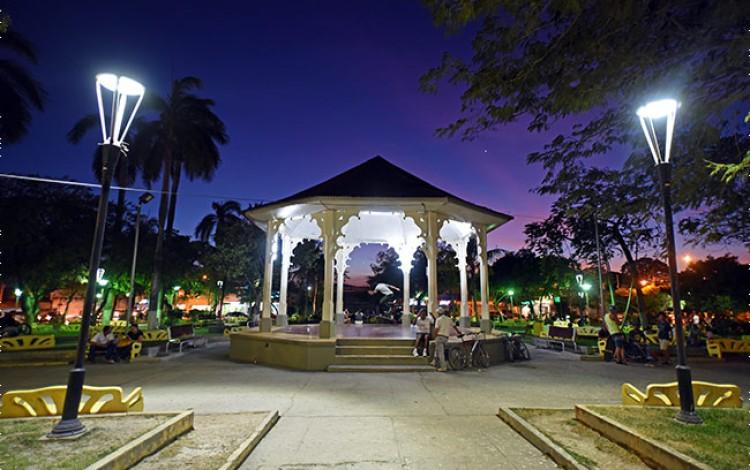 Quisco del parque Mario Cañas Ruiz.