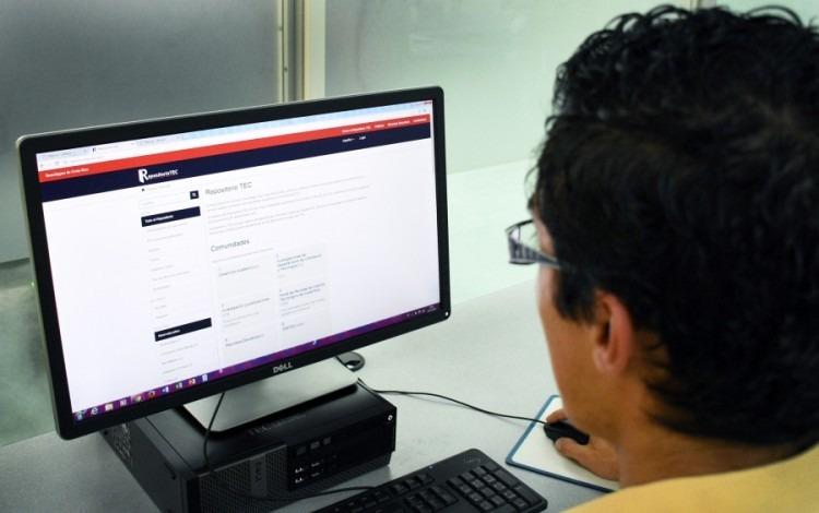 Repositorio Institucional del TEC (Foto: Ruth Garita/OCM).