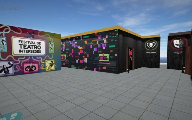 Captura de pantalla del repositorio donde se pueden observar todas las producciones virtuales de los grupos estudiantiles de teatro del Tecnológico