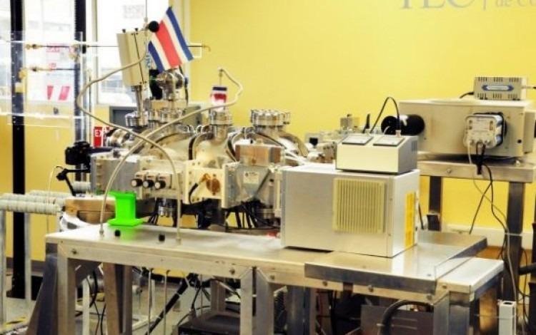 Este es el Stellarator de Costa Rica 1 (SCR -1), ubicado en el Laboratorio de Plasmas para Energía de Fusión y Aplicaciones del TEC.(Foto Ruth Garita/OCM)