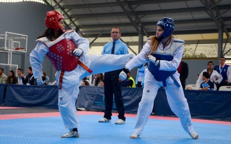 peleadoras de taekwondo