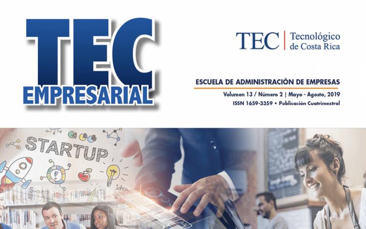 Imagen de la portada de la revista Tec empresarial
