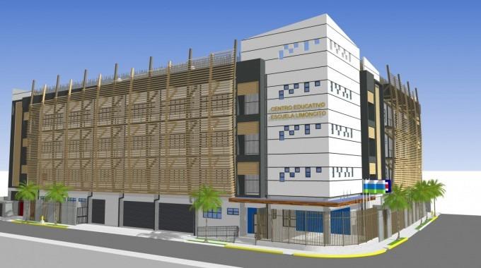 diseño propuesto escuela limoncito