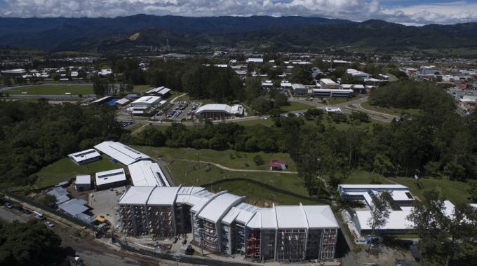 vista aérea del TEC Campus Cartago