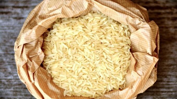 Imagen de granos de arroz