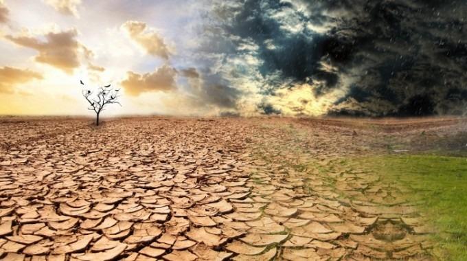 En la imagen se muestra una gran sequía, como parte de las acciones que podría dejar el cambio climático