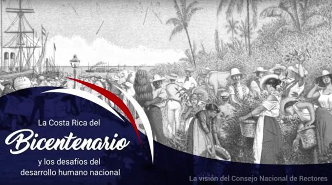 afiche costa rica bicentenario