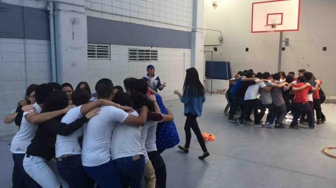 """El día de inducción permitió """"romper el hielo"""" con los nuevos estudiantes (Foto Paola Acuña)"""