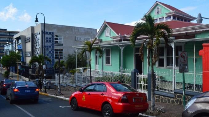 El nuevo edificio del Campus TEC San José está al costado oeste de la Casa Verde.