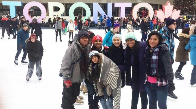 La ciudad de Toronto en Canadá albergó a los estudiantes del TEC, quienes compartieron diversas actividades con miembros de la comunidad universitaria del Centennial College. (Fotografía: Diana Segura).