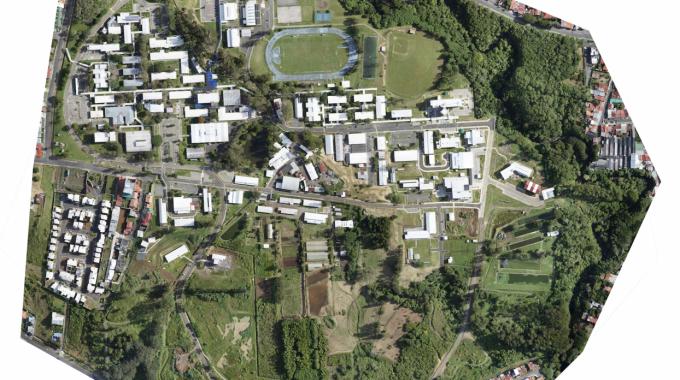 imagen aérea del TEC