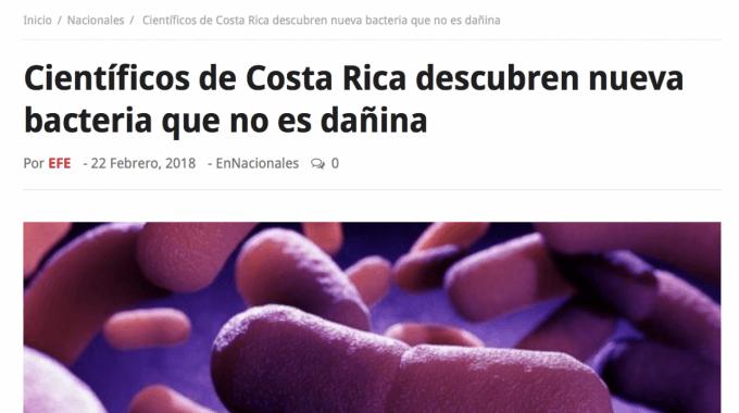 Imagen de unas bacterias que se adquieren por consumir alimentos contaminados.