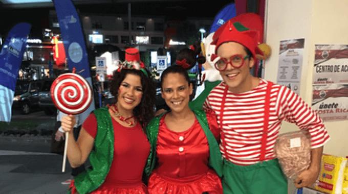 """El grupo Okarina presentará la obra """"""""S.O.S. se perdió Santa"""". (Foto cortesía de grupos Okarina)."""