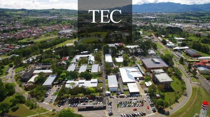 vista aérea del Campus Cartago
