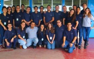 Equipo de trabajo del Proyecto Promates en el Liceo de Santo Domingo, en Heredia. (Foto: Irina Grajales / OCM).