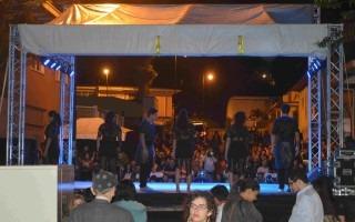 Amón Cultural ofreció actividades artísticas y culturales hasta la madrugada del domingo. (Foto Fernando Montero)