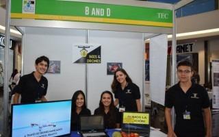 """Los jóvenes de B&D obtuvieron el primer lugar de """"Proyectos nacientes"""". (Foto: Ruth Garita/OCM)"""
