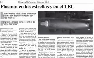 Informatec. Noviembre - Diciembre, 2010