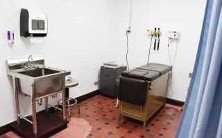 Este es uno de los dos espacios con los que ahora cuenta el consultorio médico.