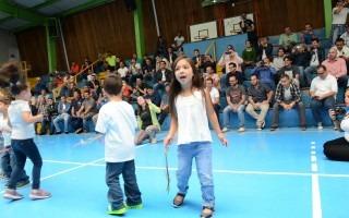 En la actividad participaron 104 niños. (Foto: Ruth Garita / OCM).
