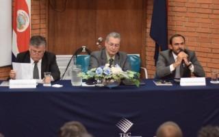 La conferencia fue organizada por la Escuela de Ciencias Sociales del TEC. (Foto: Andrés Zúñiga / OCM).