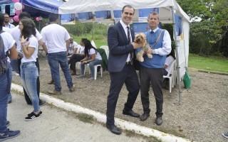 Los candidatos Eugenio Trejos y Luis Paulino Méndez.