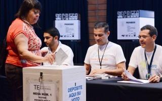 Votaciones en el Campus Central del TEC. (Fotografía: Ruth Garita / OCM).