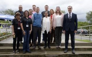 TEC recibe observadores del Tribunal Electoral de la Universidad de Costa Rica